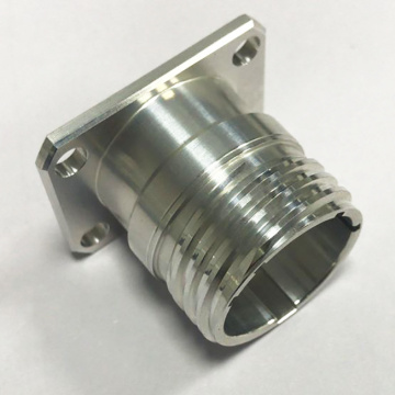 3D CNC Machined Turned Aluminum Tube