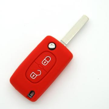 Peugeot aquecido Car Key Protector Cover
