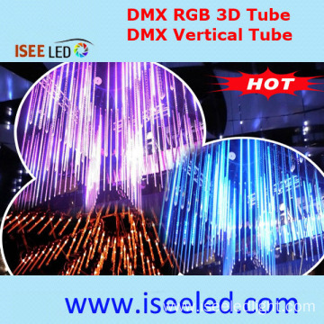 Addressable LED 3D Effect RGB Crystal Tube Waterproof