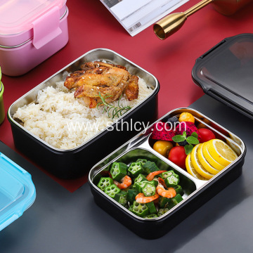 Sealed and insulated double-layer Japanese lunch box