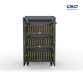 Universal laptop security locker charging cart