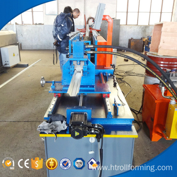Steel sheet welding drywall keel roll forming machine