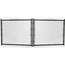 China OEM for Chain Link Wire Mesh Fence temporary construction chain link fence panel supply to El Salvador Manufacturers