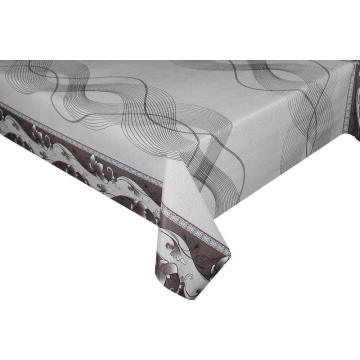Elegant Tablecloth with Non woven backing Industrial Vinyl