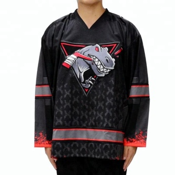 Custom Ice Hockey Jersey China Sublimation Inline Hockey Jersey