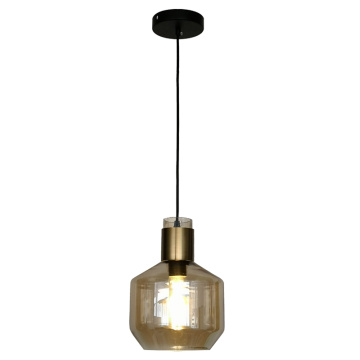Modern Amber Color Glass Pendant Lamp Hanging light