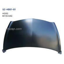 10 Years for Glass Hood Car Steel Body Autoparts Honda 2003 FIT/JAZZ HOOD export to Montserrat Exporter
