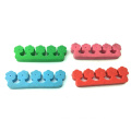 Soft Pedicure Nail Art Tool EVA Foam Toe Separators Nail Disposable Toe Separator