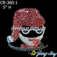China for Candy Pageant Crowns Fashion Design Wholesale Custom Crowns For Christmas supply to Brunei Darussalam Factory