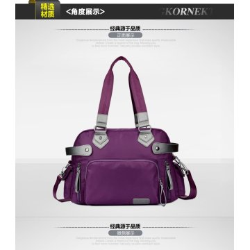New style travel bag Woolen cloth hand bag