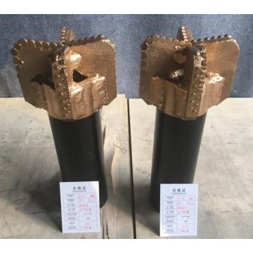 PDC diamond step drag engraving drill bit