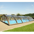 Drain Plastic Enclosure Shade Swimming Pool Glass Cover
