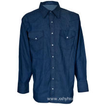 FR denim shirt safety protective workwear