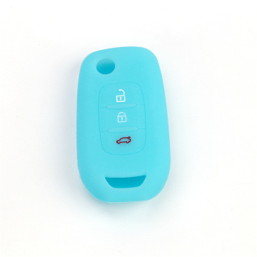 Silicone Renault lancer key fob shell cover