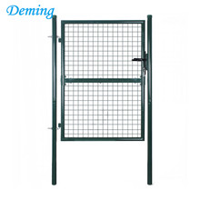 welded steel wire mesh fence swing gate