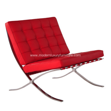 Modern Classic Furniture Barcelona Leather Lounge Chair