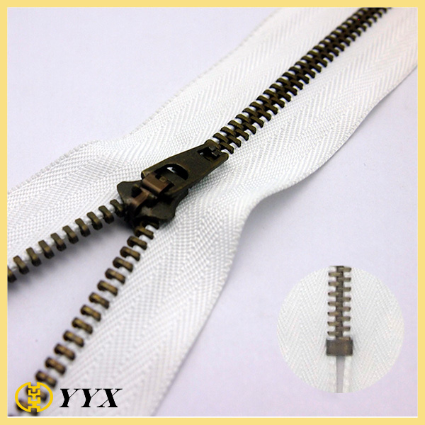 metal zipper for pants