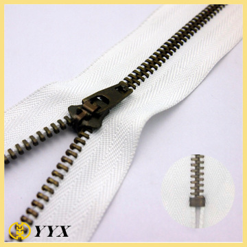 Anti Copper Teeth 4.5 YG Metal Zipper