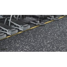 gym noise reduction rubber floor