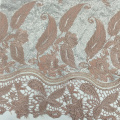 Special Chemical Lace Borders Sequin Embroidery Fabric