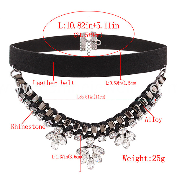 Multilayers Chain Tattoo Choker