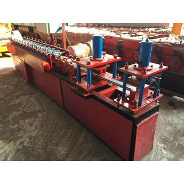 Rolling shutter door frame roll forming machine