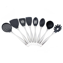 Professional for Silicone Kitchen Utensils Set Kitchen Accessories 8pcs Silicone Cooking Utensils set export to Indonesia Supplier