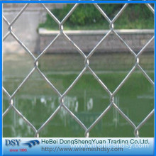 High Quality Wholesale Galvanized Chain Link Fence/PVC Coated  Chain Link Fence Panels For Sale