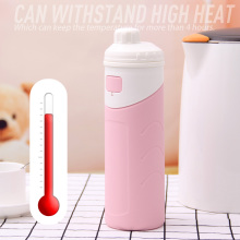 Wide Mouth Silicone Insulate Water Bottle
