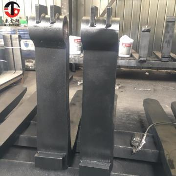 Hook type 1.37'*4'  forklift forks of  1ton loading