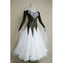 Wholesale Price for Ladies Ballroom Prom Dress Black and white Ballroom gowns export to Rwanda Importers