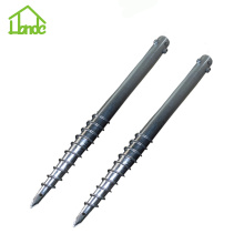 Cost-effective ground anchors screws for traffic