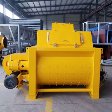 JS1500 large capacity double shaft concrete mixer machine