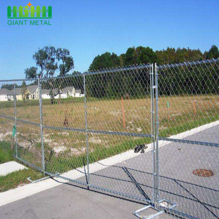 Temporary Chain Link Construction Fence Home Depot