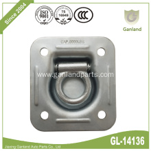 Steel Square Recessed Pan Fitting With D Ring