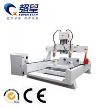 Reliable for Rotary Material Working Machine,3D Wood Art Machine,Cnc Lathe Machine Manufacturer in China Wood Multi Head 4 Axis CNC Router Machine supply to Ecuador Manufacturers