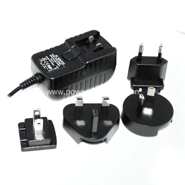 interchangeable international Plug schalt Power Adapter