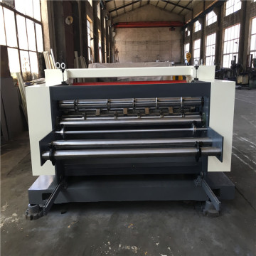 Corrugated cardboard NC cut off/box making machine