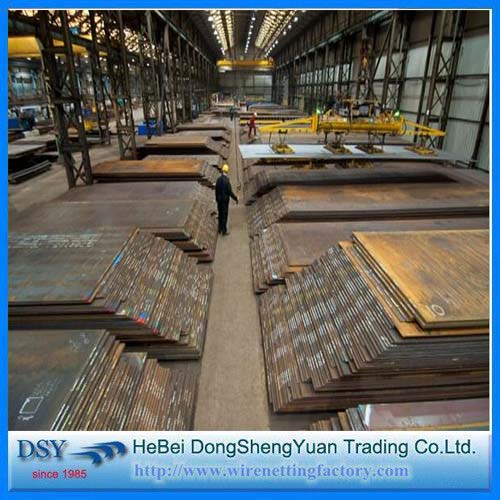 Black Iron Low Carbon Steel Plate