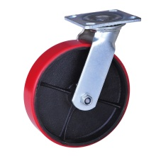 125mm mold on polyurethane wheels swivel caster