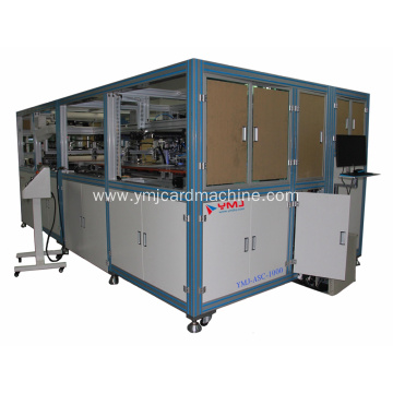 Smart Card Equipment Sheet Collating Machine