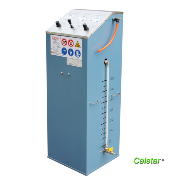 Auxiliary system for solvent recovery machine