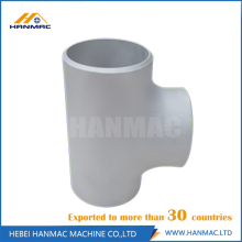 Good Quality for Aluminum Tee,Aluminium Tee Fittings,Aluminum Reducing Tee Manufacturer in China 3 inch aluminum STD equal tee supply to Mauritius Manufacturer