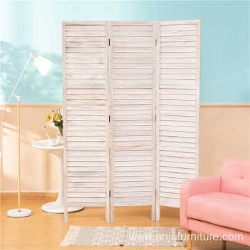 Hall partition room divider wooden screen