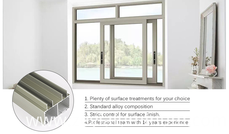 Sliding Window Of Aluminium Profile