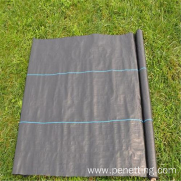 Weed Control Membrane with 30cm green line
