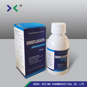 Animal Enrofloxacin 5% Oral Solution