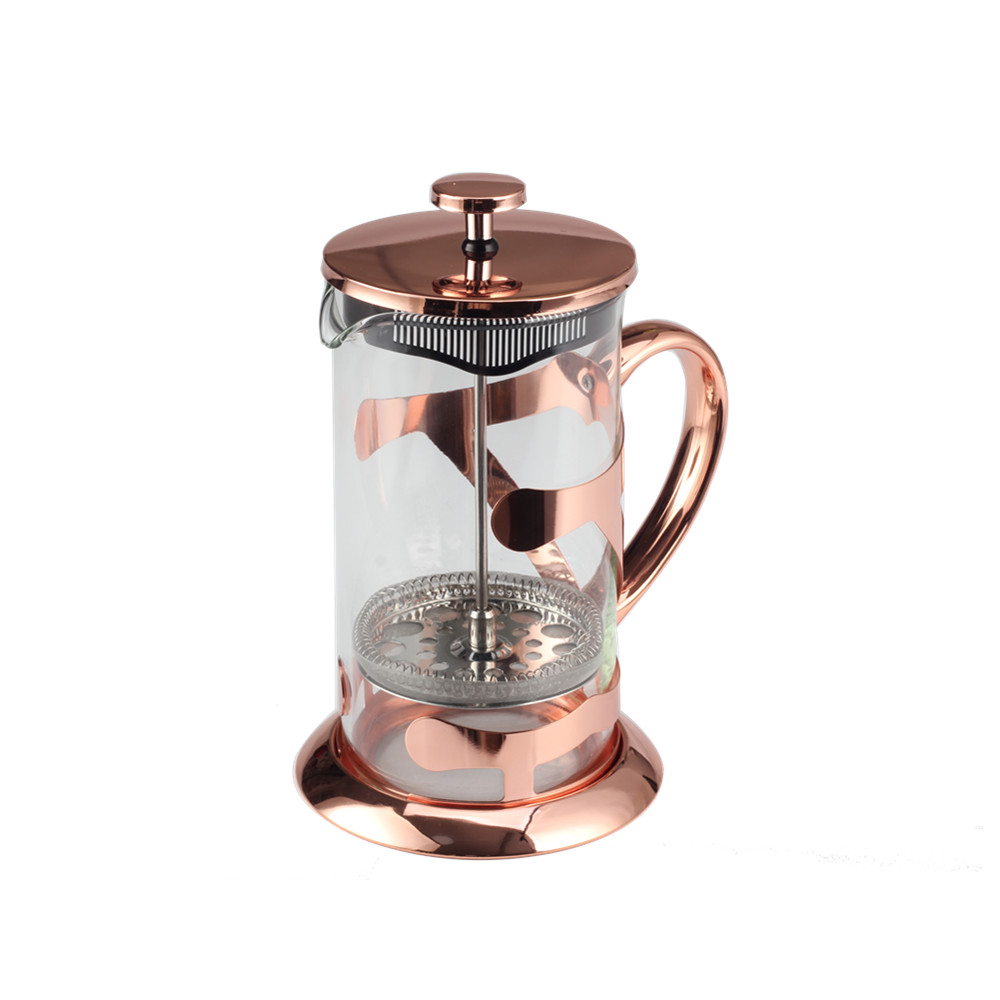 Copper Glass Coffee Maker