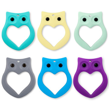 Owl Silicone Teether Teething Toys