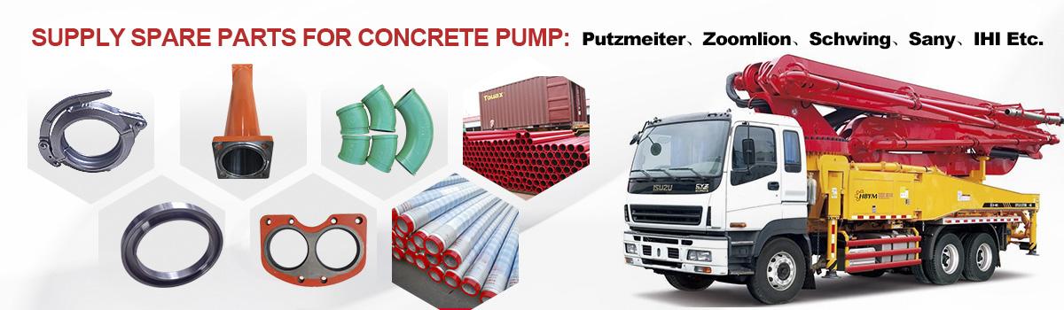 Manufacturer of Concrete Pumps Spare Parts | Concrete Pump Spares